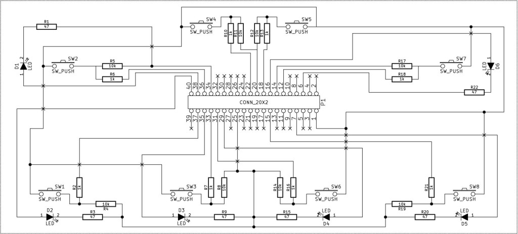 Das Schaltbild des Hörkoffer. Klicken für hoch auflösendes PDF.